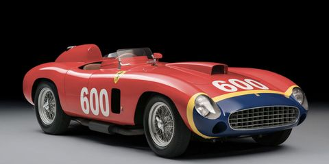 This 1956 Ferrari 290 MM Just Sold for $28 Million