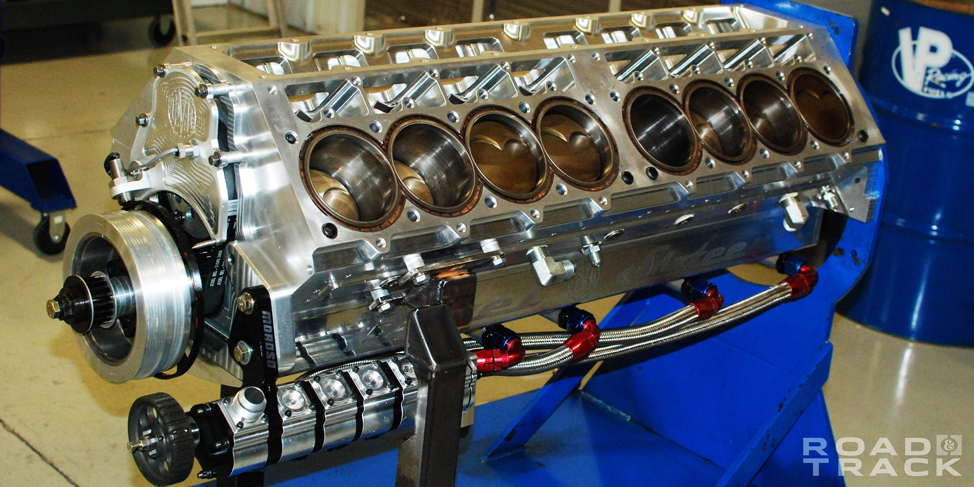 That Crazy 5000-hp, Quad-Turbo, 12 3-Liter V16 Is So Much