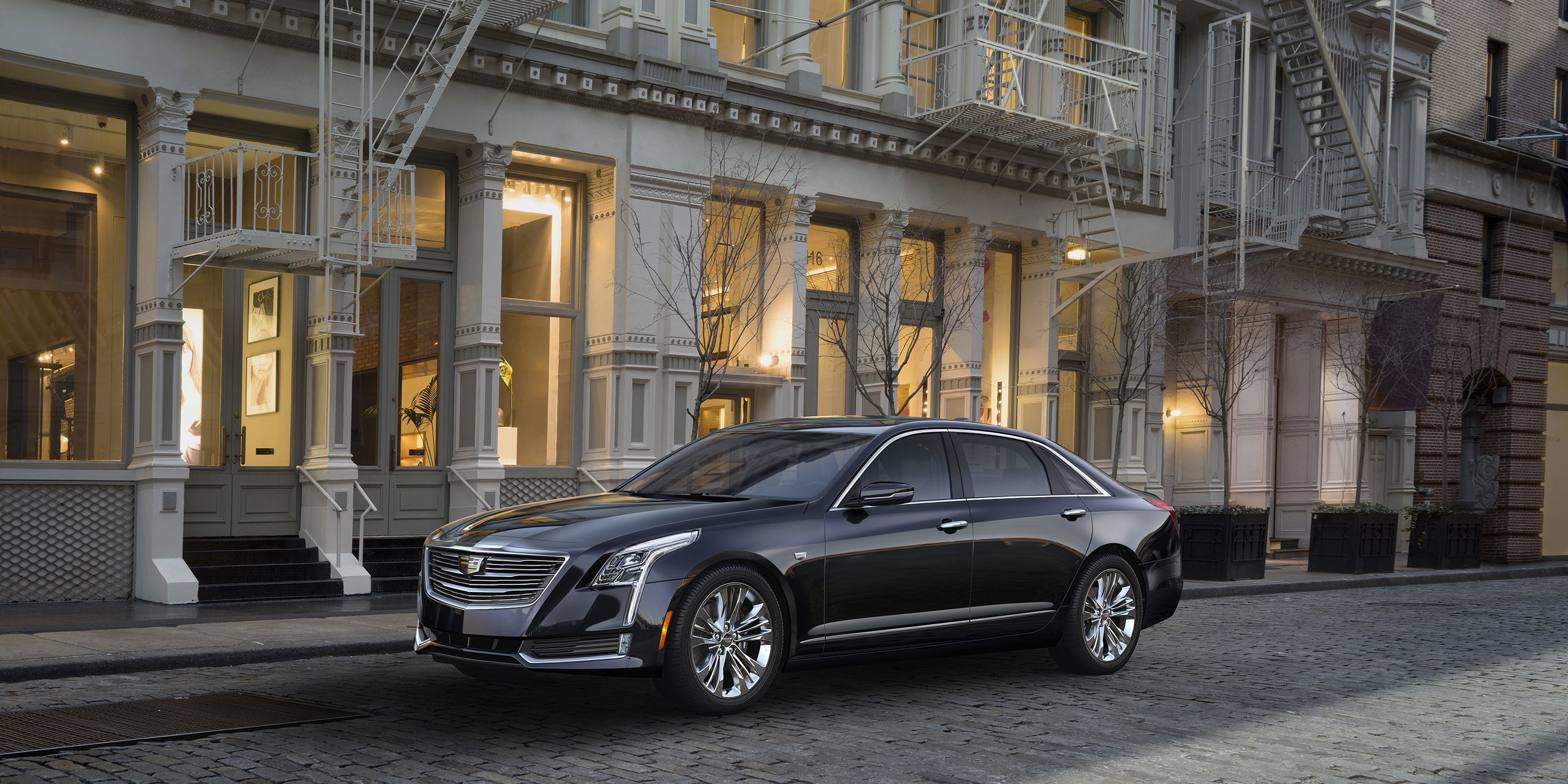 "<p>Cadillac's new flagship sedan, the CT6, is nearly<a href=""http://www.caranddriver.com/cadillac/ct6""> as large as a BMW 7-Series</a> and has a 2.0-liter turbocharged four-cylinder as an option. It makes about 265-hp. </p>"