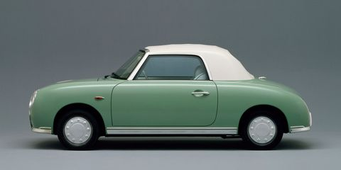<p>If you think the Figaro looks older than its 25-or-so-odd years, you'd be right. It was built during a time that Japan was going through a classic car boom, and predictably, became a classic itself. The clean and simple lines would definitely make the Figaro a head turner if you drove it down your block. </p>