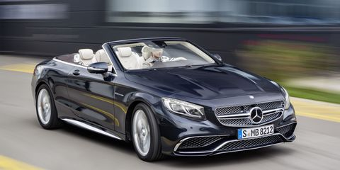 2017 Mercedes S65 Amg Cabriolet First Look