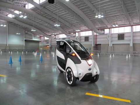 The Toyota i-Road Is Unlike Anything You've Ever Driven Before