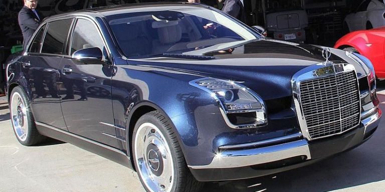 Check out this bizarre custom mercedes benz s class for Mercedes benz royale