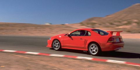 the cobra r was the ultimate mustang of the early 2000s