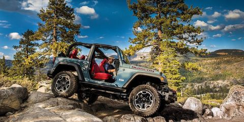 <p>An icon of World War II, improbably soldiering on well into the 21st century. With the aerodynamic properties of a bank vault, the Wrangler isn't fast, but with light modification, these trucks can go virtually anywhere.</p><p>Where other modern off-roaders have turned into quasi-performance cars, the Wrangler raises a proud middle finger to that notion. Never change, Wrangler.</p>