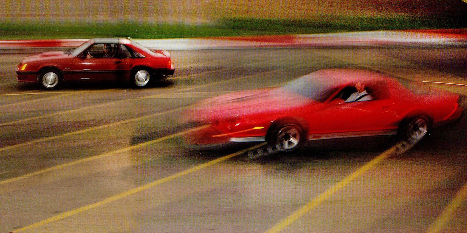 drive flashback 1982 chevrolet camaro z28 vs 1982 ford mustang gt rh roadandtrack com 82 Camaro Z28 1977 Camaro Z28