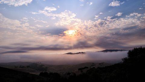Nature, Sky, Cloud, Atmosphere, Natural landscape, Atmospheric phenomenon, Dusk, Landscape, Evening, Sunrise,