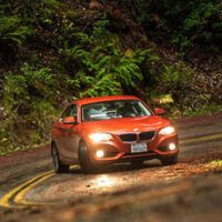 """<p><a href=""""http://www.roadandtrack.com/new-cars/videos/a5816/behold-the-2014-bmw-2-series/"""" target=""""_blank"""">The BMW 2 Series</a> is the least-expensive BMW you can buy. That makes it a great starting place for buyers who are new to the brand and don't have the budget for a nicer luxury car. But whether they're buying it because it's cheap or because it's cute, it's also fun to drive. After a few months behind the wheel, new owners are going to start to understand why enthusiasts love driving.</p>"""