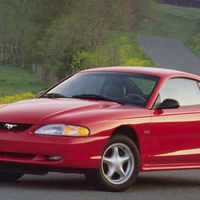 "<p>Even more than the Corvette, there's a Mustang available for every budget. <a href=""http://www.roadandtrack.com/car-culture/features/g4101/slideshow-fox-ford-mustang-sketch-to-production/?"" target=""_blank"">Fox-body Mustangs</a> offer tons of tuning potential for very little money, as do SN-95s. Heck, with a little hunting, you can even find SN-197 <a href=""http://www.ebay.com/sch/Cars-Trucks/6001/i.html?_sop=7&_from=R40&makeval=Ford&modelval=Mustang&Model%2520Year=2005%7C2006%7C2007%7C2008%7C2009%7C2010%7C2011%7C2012%7C2013%7C2014&_stpos=02121&Number%2520of%2520Cylinders=8&_nkw=Ford%20Mustang&_dcat=6236&rt=nc&_mPrRngCbx=1&_udlo&_udhi=10000"" target=""_blank"">Mustang GTs for less than $10,000</a>. And where  used Mustangs lack handling, they make up for it with cheap power. </p>"