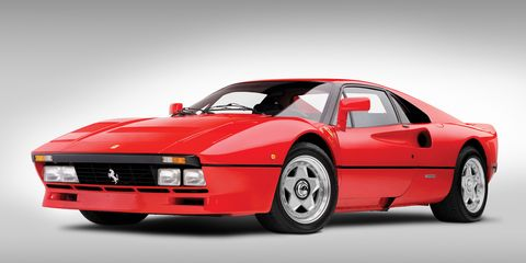 """<p>Using a 2.8-liter V8 and two turbochargers, the 288 GTO was one of many homologation specials from Ferrari. It was based on the 308 GTB and was designed to compete in Group B, the crazy race class that gave us the Ford RS200 and the Renault 5 Turbo. Sadly, Group B was canceled before the GTO got to race, <a href=""""http://www.roadandtrack.com/car-culture/features/a7304/sam-smith-on-ferrari-288-gto/"""" target=""""_blank"""">but at least we got the road cars</a>.</p>"""