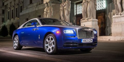 If you like the Rolls-Royce Ghost but wish it was a bit more sporty, then the Wraith is the car for you. It's one of the best grand tourers money can buy, and you can still pick from all the regular Rolls options like the starlight headliner.