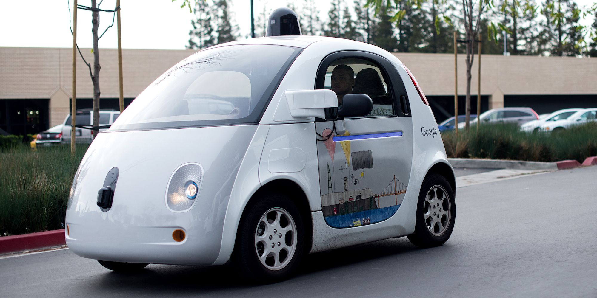 Google Car Gets Windshield Wipers, Just Not for the Windshield