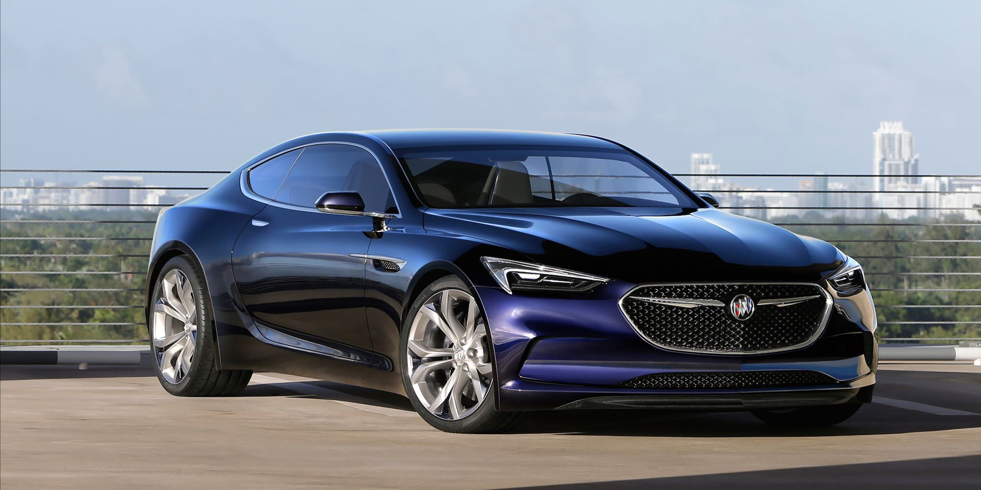 Buick Debuts The Avista A Gorgeous Concept Coupe 1954 Wildcat Ii