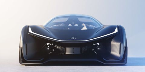 Faraday Future S 1000 Horse Electric Concept Race Car Here It Is