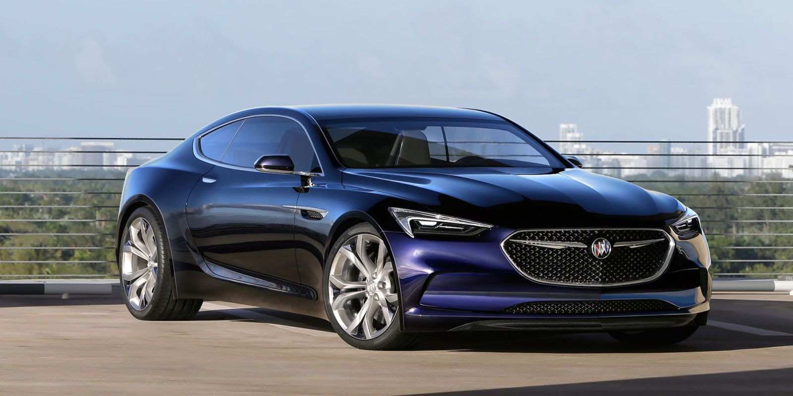 New buick concept car