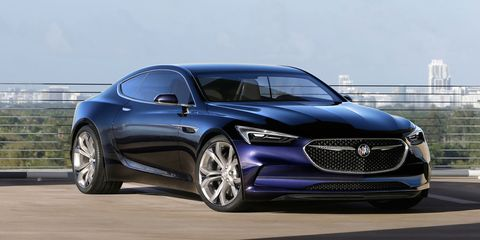 The Buick Avista Concept Was Surprise Hit Of Detroit Auto Show This Year