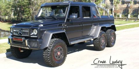 Mercedes G63 Amg 6x6 Weistec For Sale