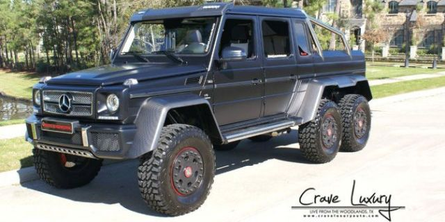 Mercedes 6x6 For Sale >> Mercedes G63 Amg 6x6 Weistec For Sale