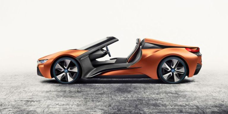 This Bmw I8 Concept Has No Doors No Roof And A Huge Gesture