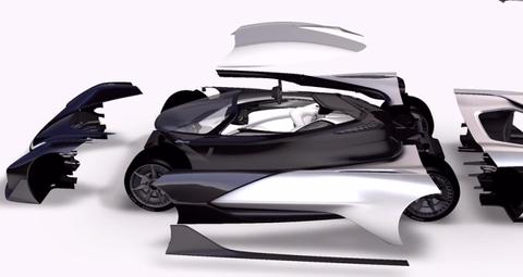 Automotive design, Product, Automotive exterior, Fender, Automotive mirror, Automotive lighting, Concept car, Auto part, Black, Automotive wheel system,