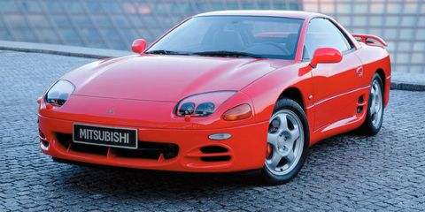The 1994 Mitsubishi 3000gt Vr4 Was Too Far Ahead Of Its Time