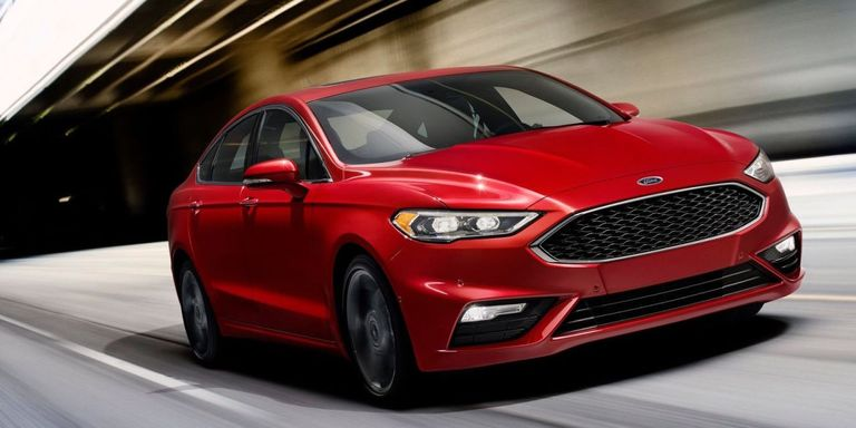 The Ford Fusion V6 Sport Packs 325 hp and All Wheel Drive