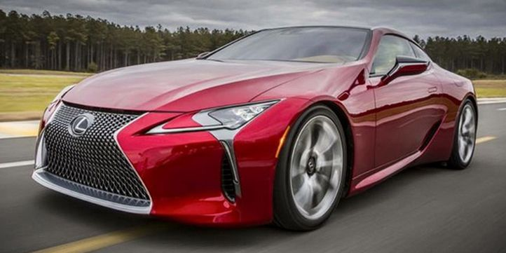 2017 lexus lc 500: a jaw-dropping 467-hp luxury coupe