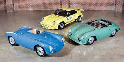 Seinfeld Porsches