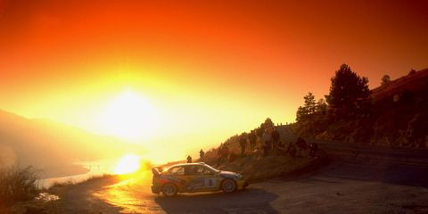 2000 Monte Carlo Rally