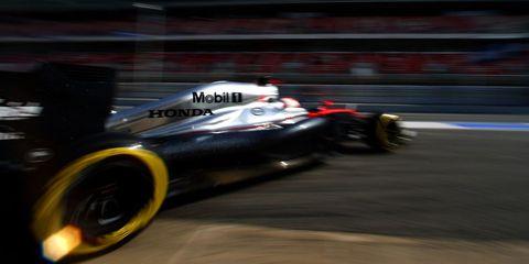 Jenson Button McLaren-Honda