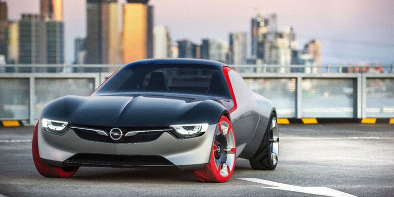 The GT Concept Is a Tiny Return to Opel's Sports Car Roots