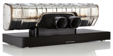 This $3000 Bluetooth Speaker Is Made From a Porsche 911 GT3 Exhaust