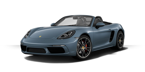 """<p>The <a href=""""http://www.roadandtrack.com/new-cars/future-cars/news/a28005/2017-porsche-718-boxster-and-boxster-s-official-photos-info/"""">Boxster has a new name</a>, a freshened look, and, the biggest new, power from a pair of turbocharged flat-fours. <a href=""""http://www.roadandtrack.com/new-cars/a28293/porsche-718-boxster-first-ride/"""">We just rode in 718 prototypes</a>, and it's promising. We can't wait to drive it.</p>"""