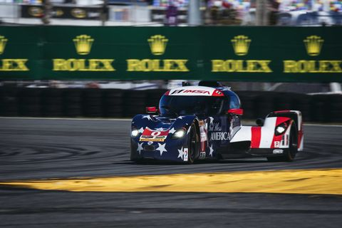 The Deltawing Led At Daytona, Then Hit A Stalled Car