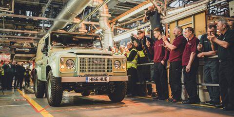 Last Land Rover Defender