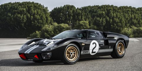 This Ford GT40 Replica Is so Accurate Parts Are Interchangeable With a Real GT40