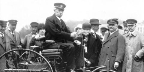 Cheers! Today the Car Turned 130 Years Old
