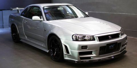 Nissan R34 GT-R Nismo Z-Tune For Sale - Road & Track