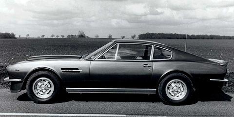 Aston Martin S Old V8 Vantage Was A Real Bruiser