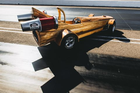 Behold The World S Fastest Log Car