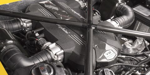 Lamborghini Aventador SV V12