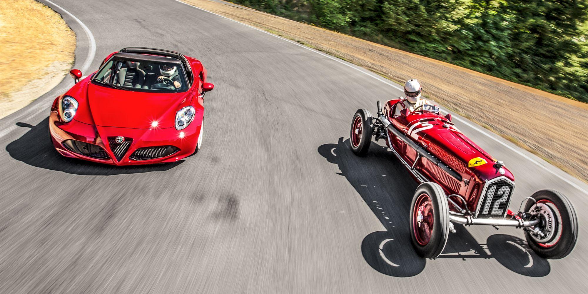 Driving The 1934 Alfa Romeo That Beat The Nazis
