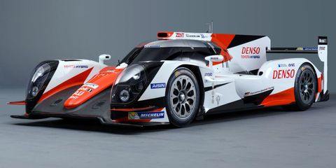 Toyota Le Mans Livery
