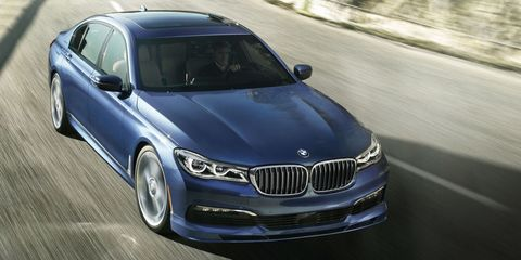BMW Alpina B XDrive First Look Road Track - Bmw m7 alpina