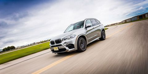 The BMW X5M Is a Road-Course Sledgehammer