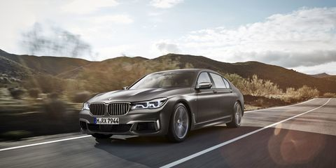 "<p>Of course, if you prefer your 600 horsepower BMW sedans to be tuned by M and have a V12, <a href=""http://www.roadandtrack.com/car-shows/geneva-auto-show/news/a28162/bmw-m760i-xdrive-the-7-series-finally-gets-an-m-badge/"">then you want the M760i</a>, the first 7-Series to wear the M badge. </p>"
