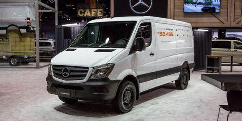 Mercedes Sprinter Worker van