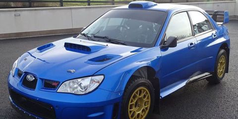 This Ex Colin Mcrae Rally Subaru Is For Sale In England