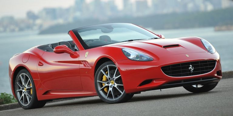 A Brief History of the Four-Seat Ferrari