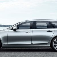 """<p>Volvo's new flagship S90 sedan makes the transition to a wagon version perfectly. This is easily one of the <a href=""""http://www.roadandtrack.com/car-shows/geneva-auto-show/news/a28210/2017-volvo-v90-wagon-here-it-is/"""">best looking longroofs we've seen in a long time</a>.</p>"""